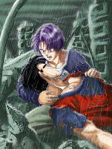 Please dont die I love you Gohan-san-Gohan x Trunks-Lory-ibDBZ Reloaded-b The Yaoi Saga -i-Thumb133
